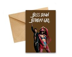 Cardi B Birthday Card - Cardi B - Greeting Card - Celebrity Cards - Puns - Celebrity Birthday Cards - Thotiana - Blueface #CardiBGiftCard #CardiBCard #CardiBBirthday #BirthdayCard #GreetingCard #CelebrityBirthday #CardiBMoney #CardForHer #GiftCard #CelebrityCards Cardi B Birthday, Boy Birthday, Birthday Cards For Boys, Money Cards, Love Island, Laugh Out Loud, Puns, Greeting Cards, Messages