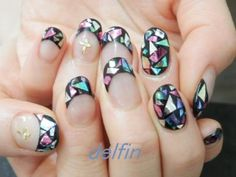 Stained Glass Nail Art ...