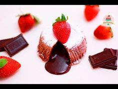 COULANT/VOLCÁN DE CHOCOLATE | LAVA CAKE | MOLTEN CAKE | MIS PASTELITOS - YouTube