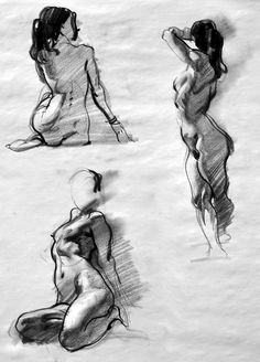 Multiple Figure Drawing.