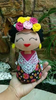 Foam Crafts, Diy And Crafts, Arts And Crafts, Peg Doll, Freida Kahlo, Princess Art, Sewing Toys, Soft Dolls, Soft Sculpture