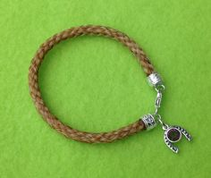 Nicole Custom horse hair bracelet by TailsofLove on Etsy, $49.00