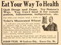 Message is good, but macerated wheat? Isn't that pre-chewed?!