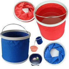 11 Medium thickening folding bucket car wash bucket folding bucket car tools auto supplies $7.22