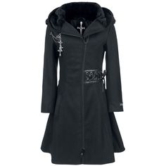 Tears Coat - Wintermantel von Alchemy Black