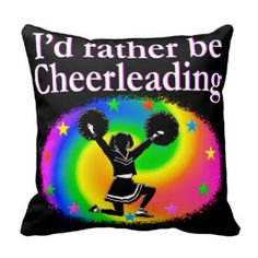 CHEERLEADER FOREVER DESIGN THROW PILLOW Calling all Cheerleaders! Enjoy the best selection of Cheerleading Tees and Gifts from Zazzle. 40% Off Pillows 15% Off Sitewide Use Code: ZAZFLASHSAVE  http://www.zazzle.com/mysportsstar/gifts?cg=196898030795976236&rf=238246180177746410 #Cheerleading #Cheerleader #Cheerleadergift #Lovecheerleading