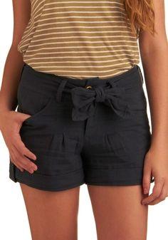 True to Blue Shorts   Mod Retro Vintage Shorts   ModCloth.com - StyleSays