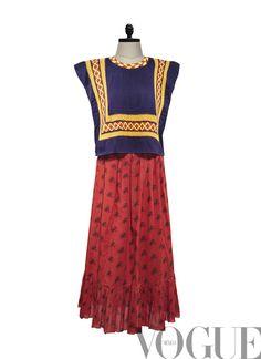 El estilo de un mito / VOGUE México / Casa Azul / Las apariencias engañan: Los vestidos de Frida Kahlo