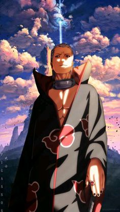 The art is realllyyyy cooolllll Naruto Shippuden Sasuke, Naruto Kakashi, Anime Naruto, Wallpaper Naruto Shippuden, Naruto Wallpaper, Anime Akatsuki, Otaku Anime, Anime Manga, Estilo Anime