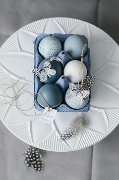 Ovos de Páscoa decorados com borboletas | Eu Decoro
