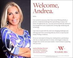 My Warburg Realty Welcome Announcement! Love selling the Warburg Way! Xo #NYCR #realestatesalesperson #keepingitrealestate #Warburgrealty #IloveNYC