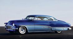 1951 Blue Danube Buick