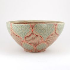 Love love love! So pretty. http://www.etsy.com/listing/150896076/ceramic-bowl-with-bright-pink-red-and?ref=sr_gallery_6_search_query=ceramic+bowl_view_type=gallery_ship_to=ZZ_ref=auto6_search_type=all