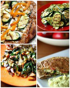 zucchini & summer squash + spicy zucchini