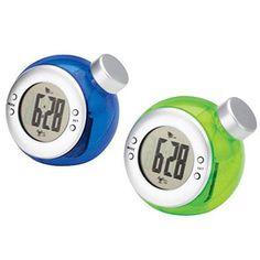 Water-Powered Clocks.