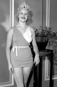 Miss América 1933 - Marion Bergeron - Connecticut