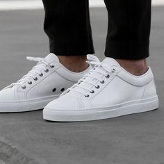 (117) Fancy - White Low Top 1 Sneakers by ETQ Amsterdam