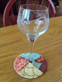 Carol's Crafty Creations: My Coaster Tutorial