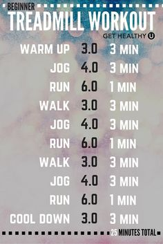 Here's our weekly fitness tip. Check out this great beginner's guide to a treadmill workout from Get Healthy U | Chris Freytag. Try it out and let us know what you think!