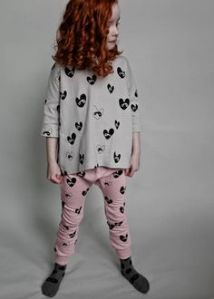 Beau Loves Bandit Lovehearts Oversized Top With Frill Back in Oyster Future  Daughter 9e59c6ab4d32
