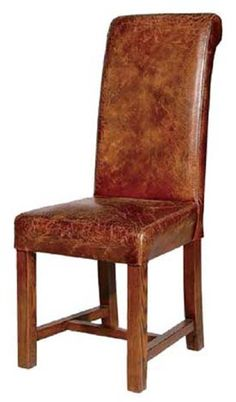Superb Distressed Leather Chair   Would Look Boss By Our Pool Table.   Lbd