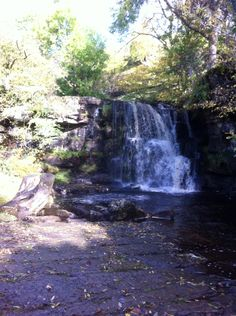 Stunning Currack Waterfall from River Swale, near Keld, North Yorkshire. Lovely long walk over the Pennines Moors, stunning scenery and so peaceful <3
