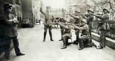 Execution of a communist in Germany, 1919