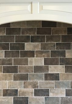 Love this stone look backsplash  |  Rustic Kitchen Ideas