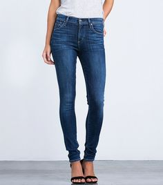 Citizens of Humanity Rocket Highrise Skinny Jeans. Seriously the most flattering jeans.   Available at MOdE in several washes and lengths.  #modeyourway #denim #citizensofhumanity #rocket #flattering