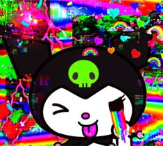Rainbow Aesthetic, Aesthetic Indie, Sapo Meme, Emo Princess, Gothic Anime, Glitch Art, Cybergoth, My Melody, Indie Kids