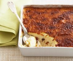 Baked rice custard In a saucepan, bring water and salt to the boil. Boil uncovered for 10 minutes, then drain well. Rice Pudding Recipes, Custard Recipes, Baking Recipes, Cake Recipes, Rice Custard Pudding Recipe, Baked Custard Recipe, Rice Puddings, Custard Desserts, Custard Tart