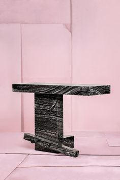 The Italian, the Turkish and the Dutch, black marble table