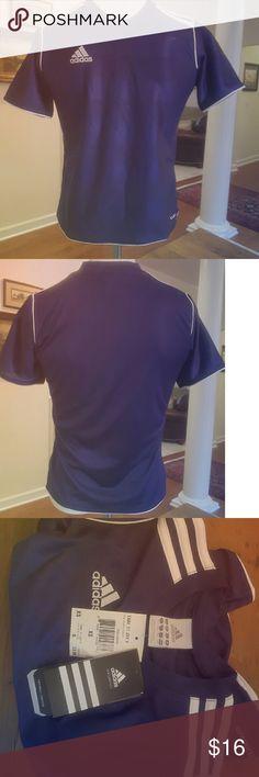 💰CLEARANCE‼️Adidas Purple Jersey NWT Adidas jersey, purple ,Xs, nwt Adidas Shirts & Tops