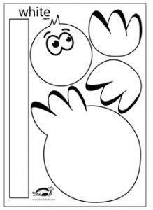 PAPER STORK children activities, more than 2000 coloring pages Easter Activities, Preschool Activities, Children Activities, Bird Crafts, Animal Crafts, Toddler Crafts, Crafts For Kids, Blog Art, Paper Art