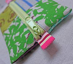 super simple zippy pouch tutorial