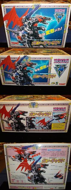 Other Sci-Fi Models and Kits 1193: Tomy Zoids Dpz-23 Model Kit, Battery Operated, Rare -> BUY IT NOW ONLY: $85 on eBay!