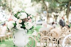 Floral Design: A to Zinnias Glitzy Southern Romance in Savannah on Borrowed & Blue.  Photo Credit: Vitor Lindo Photography