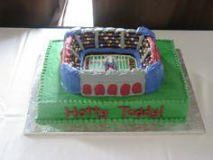 The Grove Ole Miss Stadium Cake