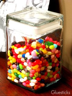 Family Clean Up Jar. Get a treat when you clean up someone else's stuff!