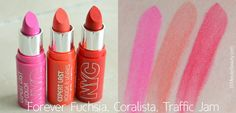 NYC Cosmetics Expert Last Lipstick Swatch and Review #NewYorkColorMakeover