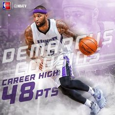 A career high in points for DeMarcus Cousins, and a Sacramento Kings win.