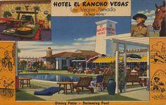 Hotel El Rancho Vegas - Las Vegas, Nevada