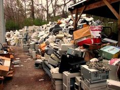 E-waste is growing rapidly in Asia