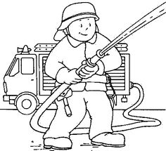 firefighter coloring pages 02 - - Jfw - Car