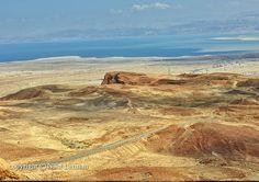 Landscape in the Judean desert. Beautiful desert and by NikaLerman