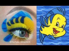 Flounder Makeup Tutorial. Youtube channel: http://full.sc/SK3bIA