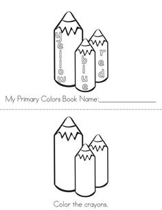 My Primary Colors Book from TwistyNoodle.com