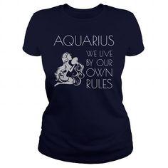 I Love Aquarius Rules Shirts & Tees