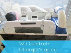 Wii Control/ Charge Station http://cityofcreativedreams.blogspot.ca/2014/02/wii-control-charge-station.html