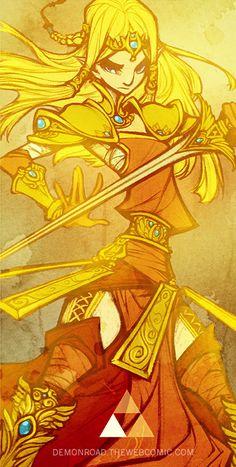 The Legend Of Zelda: The Demon Road   Art